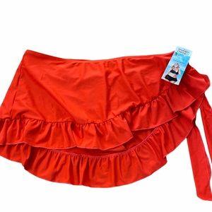 2XL Flirty & Flattering Swim Skirt NEW